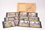 Edition Stereoscopic In Colors By Autochromes Lumiandegravere. Format 3 5/16x6 11/16in