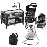 Best Unisex Travel System Baby Jogger Stroller With Car Seat Playard Swing Bag