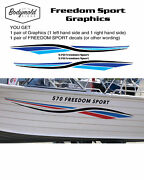 Quintrex Style Freedom Sport Graphics 1800mm Long With Custom Lettering