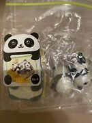 Re-ment Miniature Playing With Panda Babies Dollhouse Megahouse Animals New