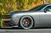 """20"""" Rohana Rfx11 Gloss Black Concave Wheels For Dodge Charger Challenger"""