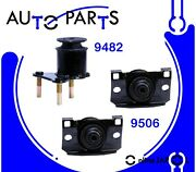 Eng Motor And Trans Mount 3pcs For Frontier, Xterra, Pathfinder 4.0l 2005-2019 Hyd