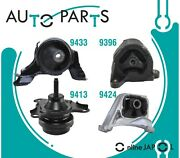 Engine Motor And Trans Mount Kit 4 Pcs For Acura Rsx 2.0 L L4 2002-06 For Manual T