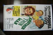 Another Thin Man 1939 Us Three Sheet Movie Poster Lb