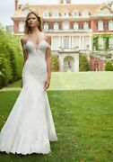 Brand New Mori Lee Pasiphae Sweetheart Neckline Strapless Gown Style 2036