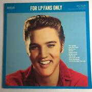 Elvis Presley Record For Lp Fans Only Victor Rockabilly Album Lp Collection