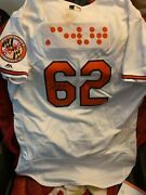 Baltimore Orioles Dj Stewart Signed Game Used/worn Rookie Braile Jersey Rare