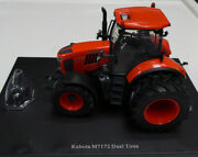 Model Tractor Kubota M7172 With Duel Rear Wheels 1/32nd By Universal Hobbies