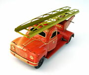 Rare 1945and039s Tippco Tippandco Fire Truck Windup Tin German Toy Us Zone Germany