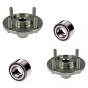 Front Wheel Hub And Bearing For 2012-2017 Hyundai Accent Lh And Rh Side Pair