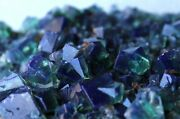 5.7 Marvelous Change Color Green And Blue Gemmy Fluorite Rogerley Mine England