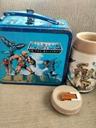 Masters Of The Universe Metal Lunchbox And Thermos
