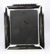 Fetco Silver Plate Classic Antique Vtg Style Lg 8x10 Picture Photo Frame 1 3/4w
