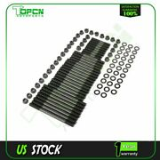 For Chevy Bbc 454 12 Point Head Stud Kit Suits For Pce Heads 8 Long Studs