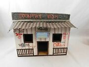 Wood And Tin Country Bar Snack Store Cola Drinks 5 Cents Beer Gum 12 1/2 X 8 1/2