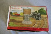 Vintage 1952 O And S Scale Plasticville Water Tank 1615-100 Original Box Complete