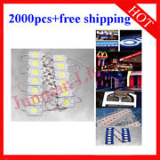 Cob Led Module 9smd Ip65 For Advertising Strip Light 2000pcs Free Shipping