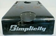 Oem Simplicity Sun Star Lawn Tractor 1691381 Fuel Tank Cover 1675726 1685304sm