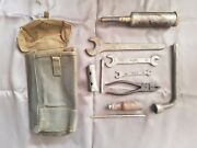 Fiat Topolino Belvedere 500 C Tool Kit Bag Wrench Pliers A B 1100 Balilla 600 23