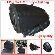 High Quality Black Motorcycle Rear Seat Waterproof Bag, Can Store Items.