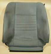 06-10 Dodge Ram Driver Seat Leather Cloth Cover Upholstery Backrest Back Rest Oe