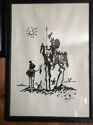 Don Quixote Print Signed By Mercedes