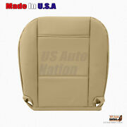 Driver Bottom Replacement Leather Seat Cover Tan Fits 1999 To 2005 Bmw 3 Series