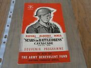 Rare Programme Signed By Montgomery Of Alamein Field Marshalgeneral Sir Oliver
