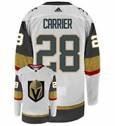William Carrier Vegas Golden Knights Adidas Authentic Away Nhl Hockey Jersey