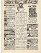 1932 Stamps Advertisement - Full Page Of Dealers