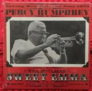 Living New Orleans Jazz-1974 Percy Humphrey Featuring Sweet Emma Sm1974p Lp