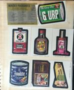 Topps Wacky Packages 9th Series Mint Non Sports Card Lot Rare Cards 1974