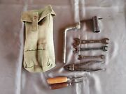 Fiat Topolino Belvedere 500 C Tool Kit Bag Wrench Pliers A B 1100 Balilla 600 9