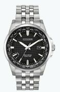 Citizen Eco-drive Menand039s World Time Perpetual Calendar 41mm Watch Bx1000-57e