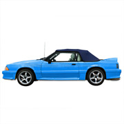 1991 1992 1993 Convertible Top With Plastic Rear Window