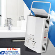 Portable Lpg Propane Gas 6l Hot Water Heater Tankless Instant Boiler Outdoor