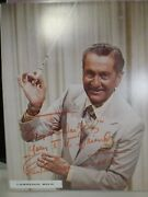 Lawrence Welk Hand Signed 8 X 10   Photo Autograph Authentic
