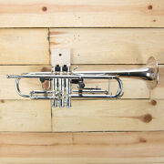Bach Step-up Model Tr200s Bb Silver Plated Trumpet