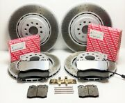 Maserati Quattroporte Gts Front And Rear Brake Pads And Rotors - Genuine