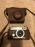 Perfect Fifty Five 1940s Camera . Comes With Leather Case .