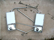 Vintage Chevrolet Doge Ford Truck Vision Mfg West Coast Tow Mirrors