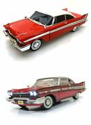 Christine Diecast Toy Car Package - Two 1/18 Scale Diecast Model Cars