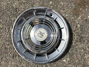 1959-1960 Cadillac Eldorado And Fleetwood Hubcap With Medallion