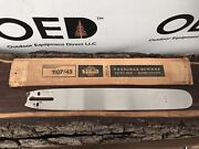Vintage 1950s Stihl Chainsaw Guide Bar - Nos New In Box Rare 20 New Old Stock