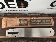 Vintage 1964 Stihl Chainsaw Guide Bar - Nos New In Box Rare 13 New Old Stock