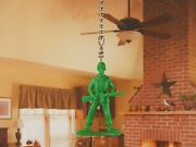 Toy Story Green Army Men Ceiling Fan Pull Light Lamp Chain Decoration K1293 C