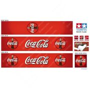56319 Tamiya 14th Scale Reefer Box Trailer Coca-cola Bottles Decals With Roof