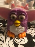 Lot Of. 7 Mcdonalds Happy Meal Furby Toys 1999 6 New 1 1998 Used