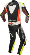 Alpinestars Gp Tech One-piece Leather Suits V3 Black Flo Yellow Red White