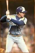 1983 Richie Zisk Seattle Mariners Poster Si Sports Illustrated Like Photo